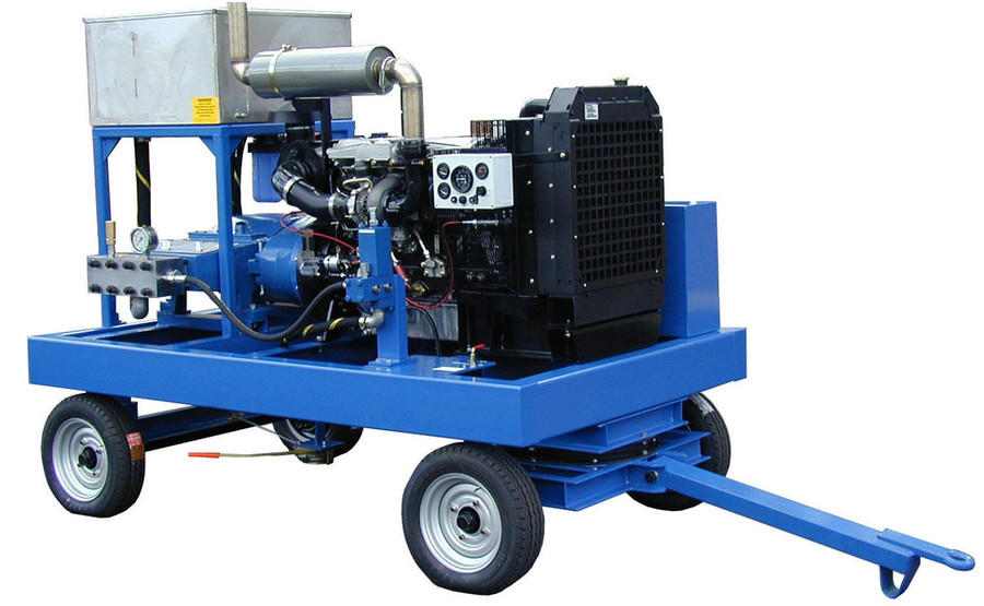 Water Jetting Units, Diesel Engine Driven